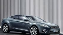 Ford Mondeo 4-door Coupe artist rendering