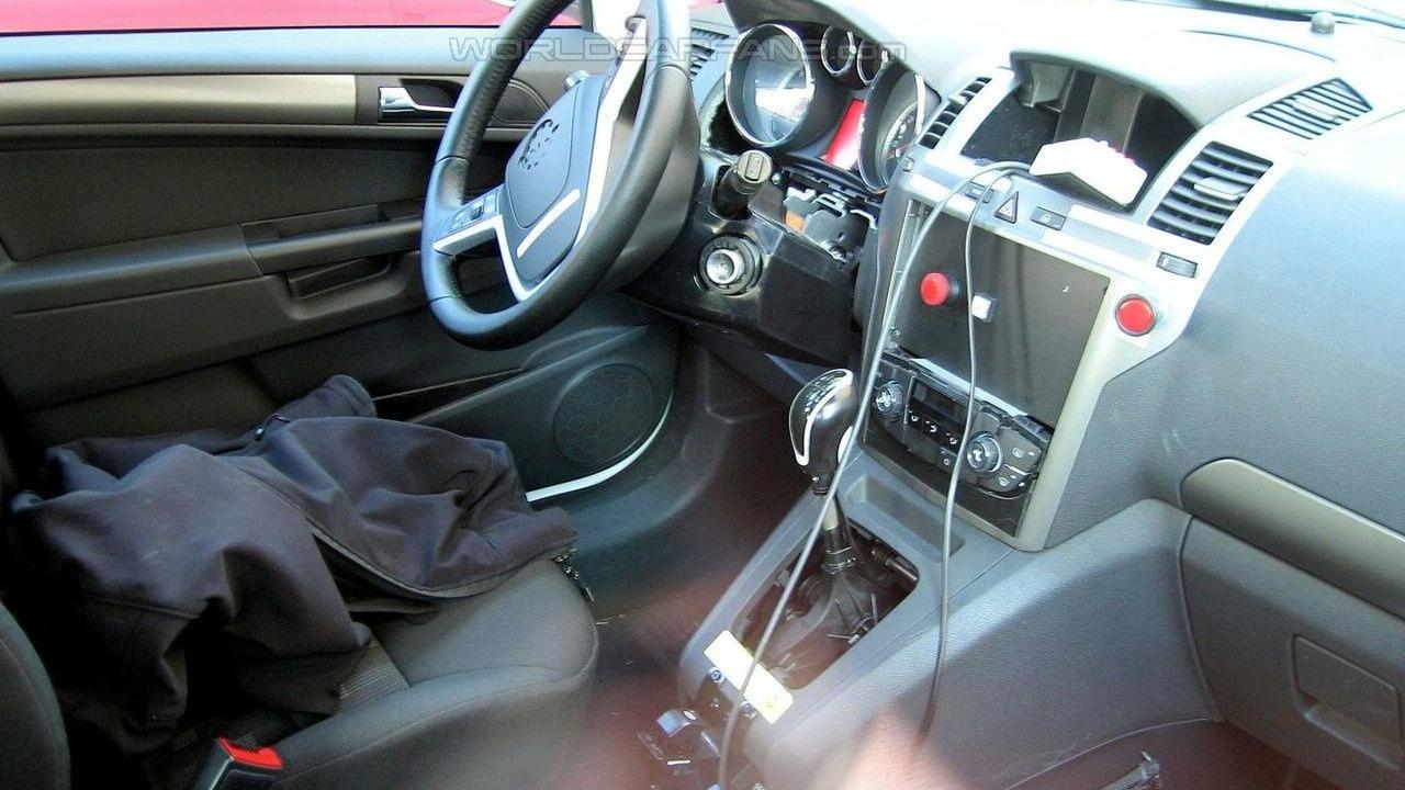 Opel Meriva Spied with Suicide Doors