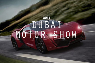 Top 5 Rides from the Dubai Motor Show