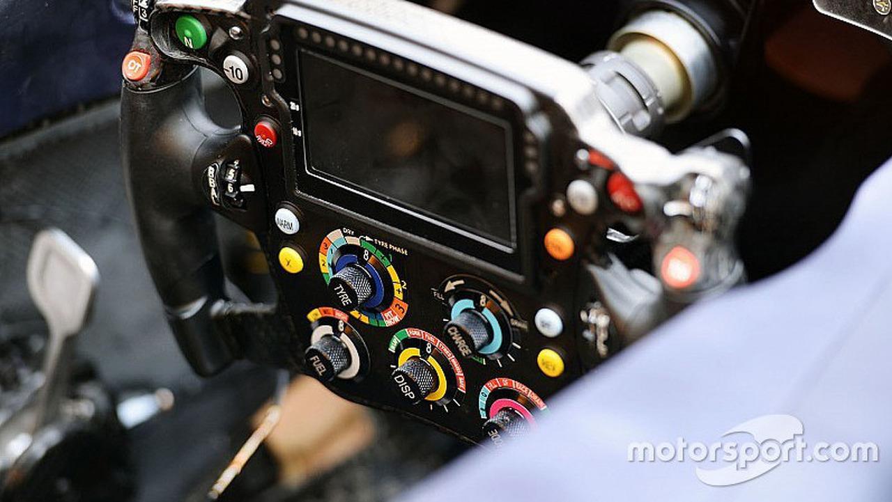 Red Bull RB12 steering wheel