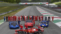 Ferrari F1 Clienti and the XX Programmes at Mugello track