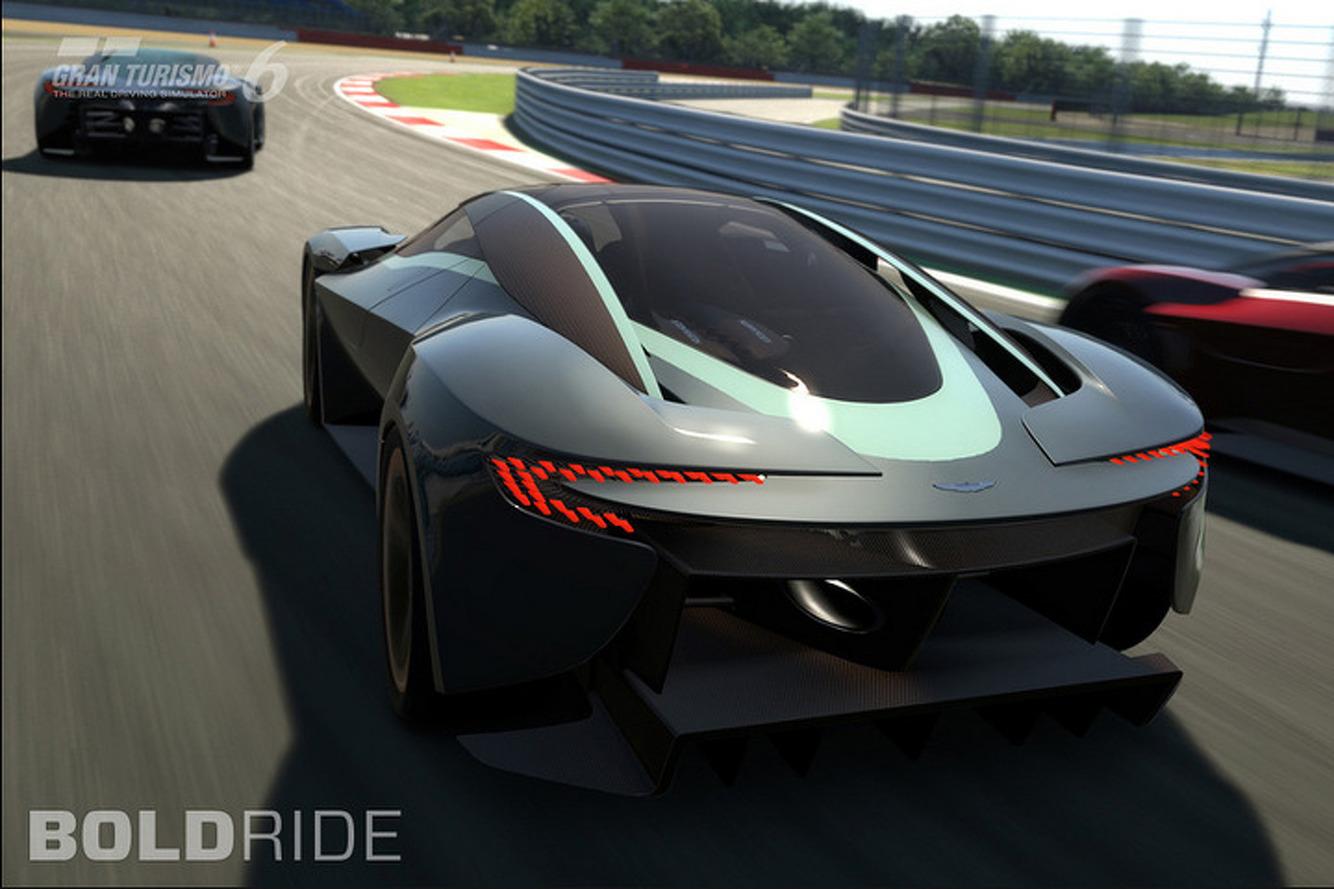 Aston Martin DP-100 Is a Fantastic, Digital Vision of a Future Supercar [w/Video]