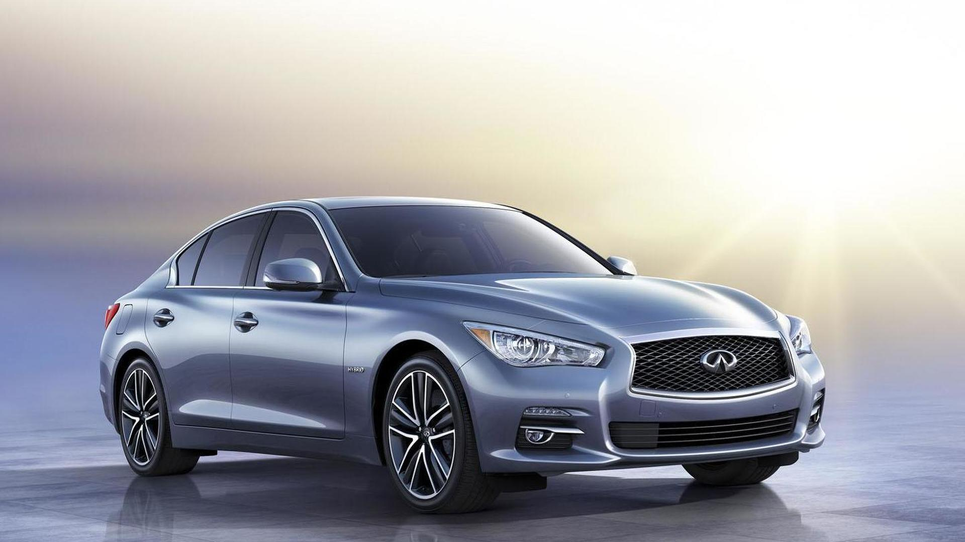 Infiniti Q50 headed to Geneva with Daimler-sourced engines