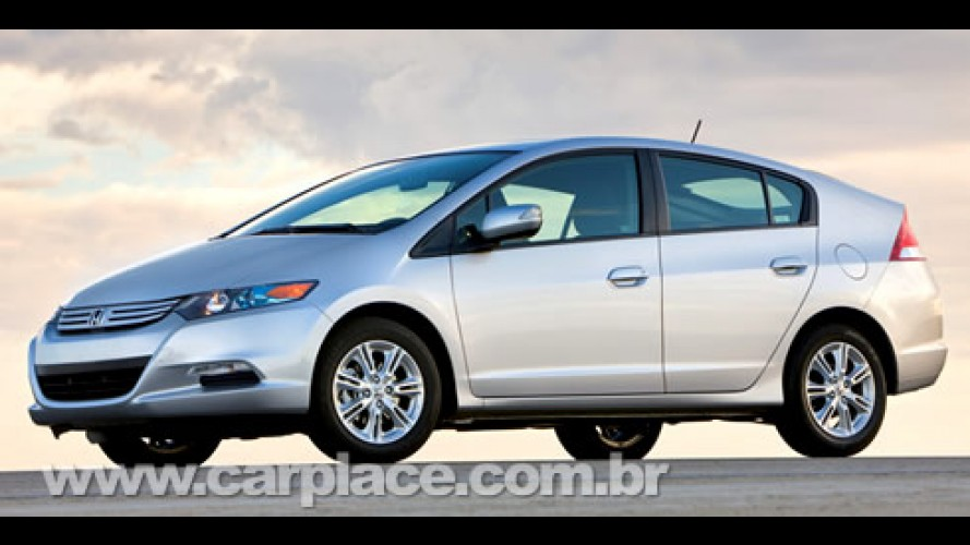 Honda divulga imagem da versão de produção do híbrido Insight 2009