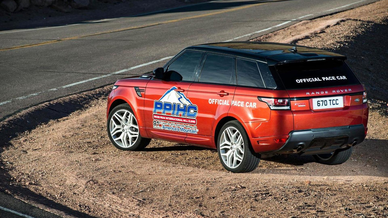 Range Rover Sport Pace Car for Pikes Peak Hill Climb 28.6.2013