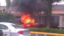 Ferrari F430 has a fiery end in Florida [video]