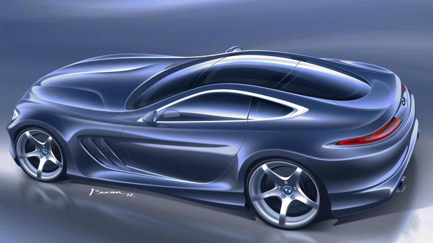 BMW 9-Series GT rendered [video]