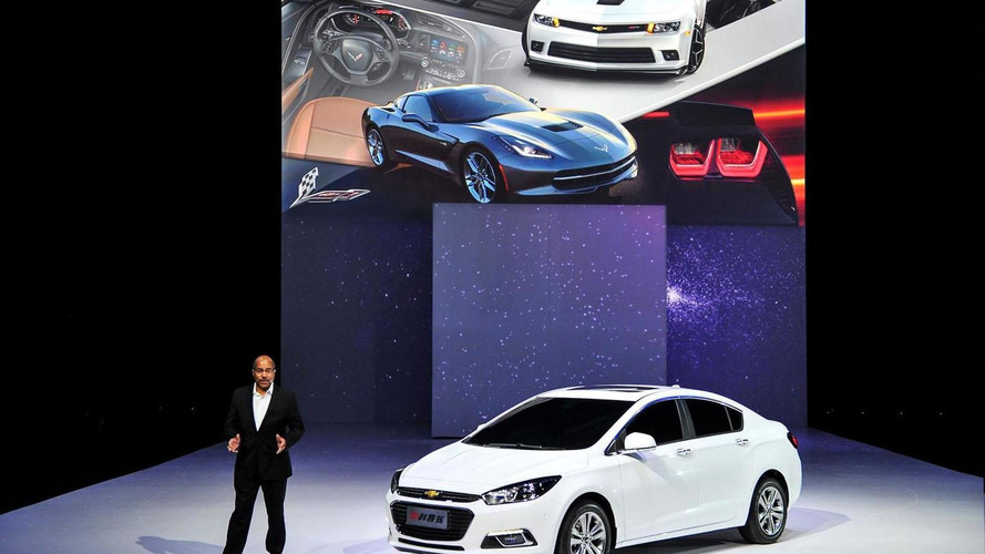 Next-generation Chevrolet Cruze unveiled at Auto China