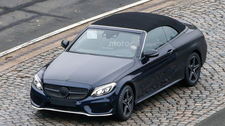 2017 Mercedes C Class Cabriolet and C43 AMG going to Geneva