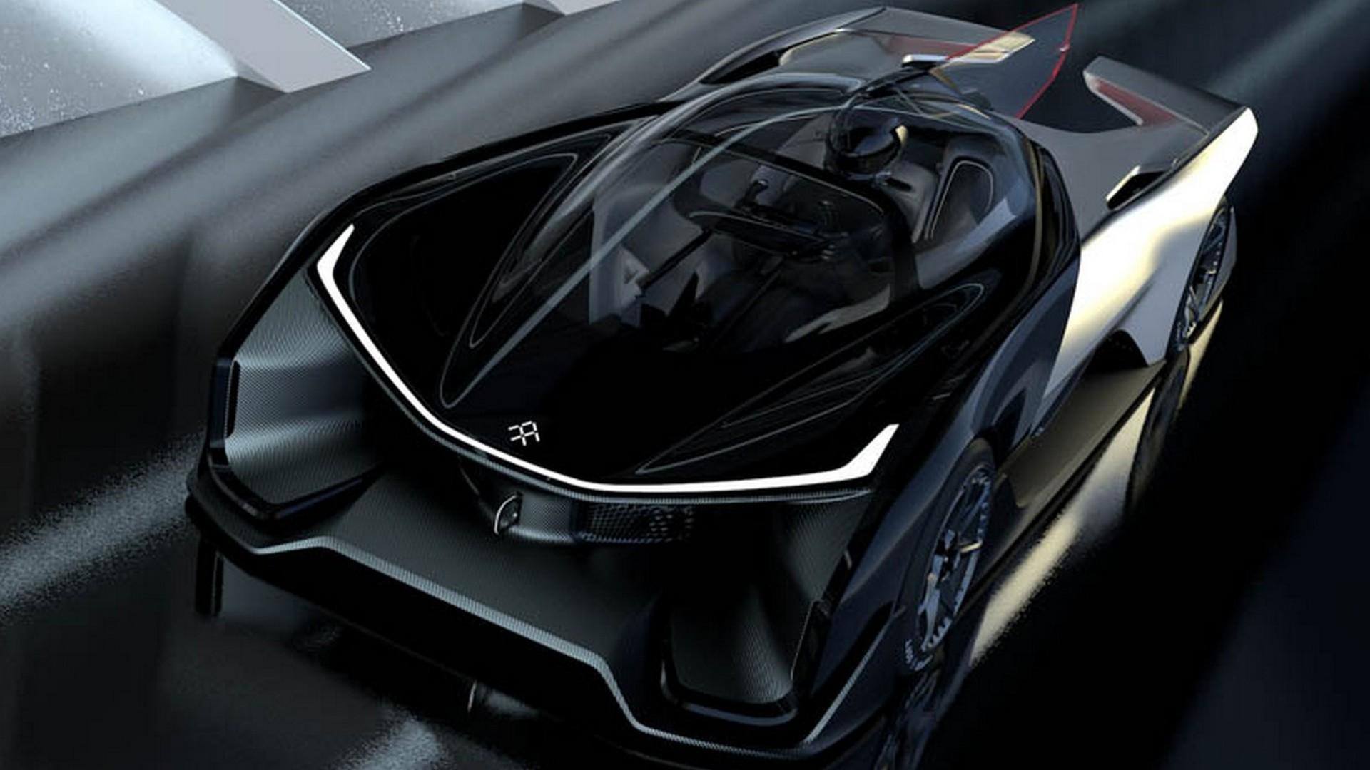 Faraday Future FFZERO1 electric concept has 1,000+ hp [videos]