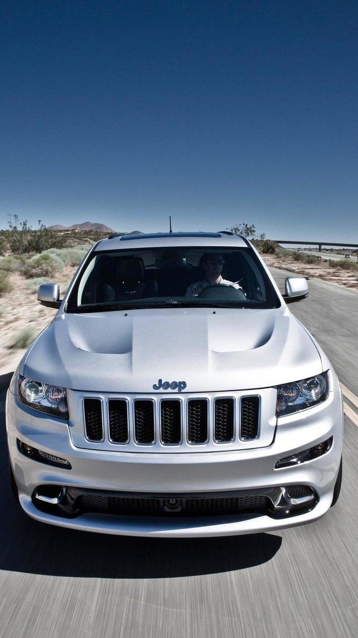euro-spec Jeep Grand Cherokee SRT8 01.09.2011