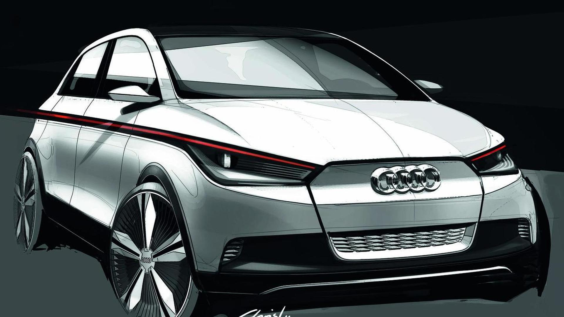 Audi working on an electric A2Q - report