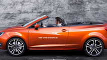Seat Ibiza Cabrio rendering