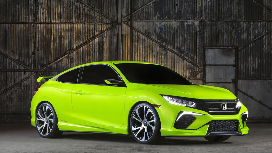 Honda Civic Concept makes a surprise appearance in New York