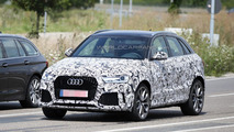 2016 Audi RS Q3 facelift spy photo