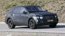2016 Bentley SUV spied in southern Europe