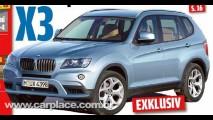 Novo BMW X3 2010 - Nova geração do utilitário será apresentada em dezembro