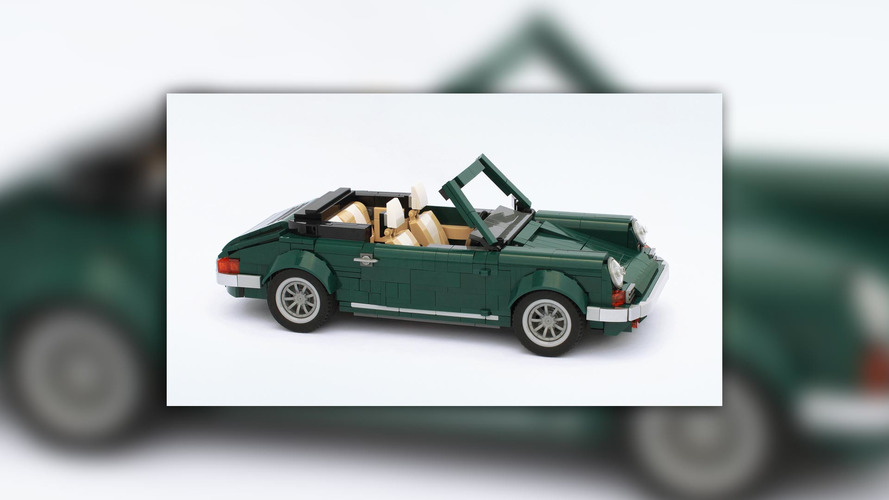 See how a Mini Cooper Lego kit spawns a Porsche 911 and Iveco truck