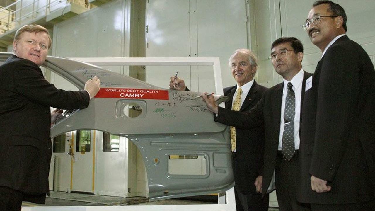 Toyota Commissions A0 Press Line