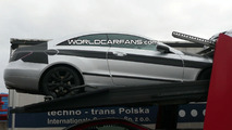 Mercedes E Class Coupe with Glass Roof Spy Photo