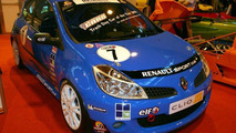 Renault Clio at Autosport International