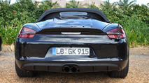 Porsche Boxster Spyder spied by WCF reader