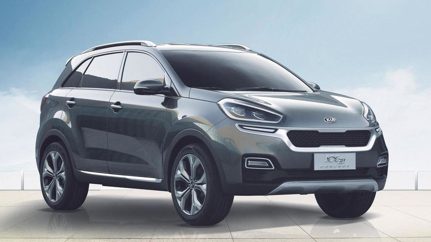 Kia KX3 concept introduced at Guangzhou Auto Show