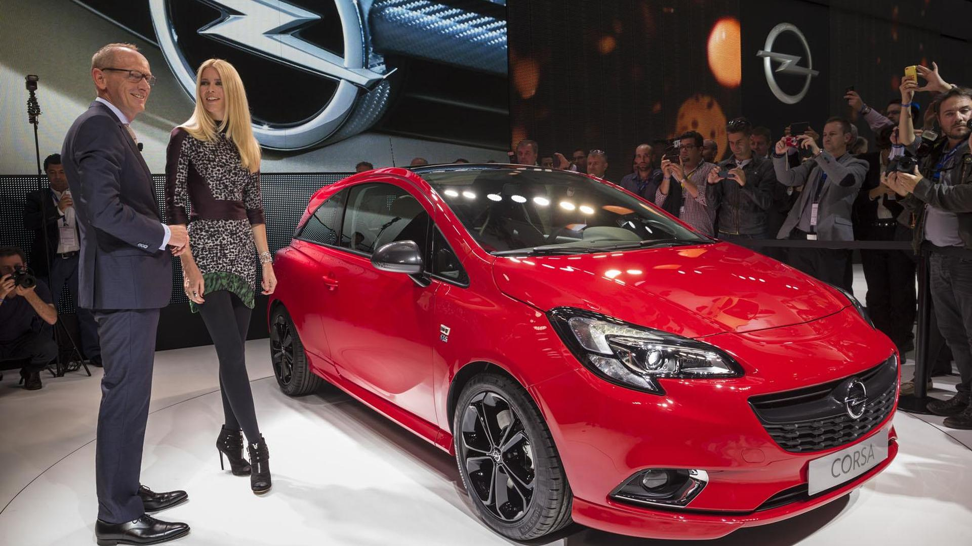 2015 opel vauxhall corsa unveiled in paris - Opel Corsa Color Edition 2015