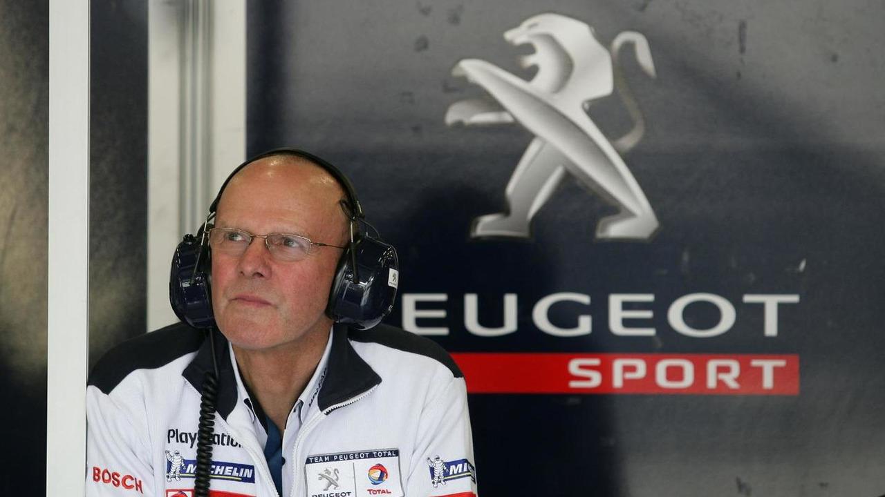 Olivier Quesnel, Head of Peugeot Sport 11.09.2011 LMS/ILMC Series, Silverstone, Great Britian