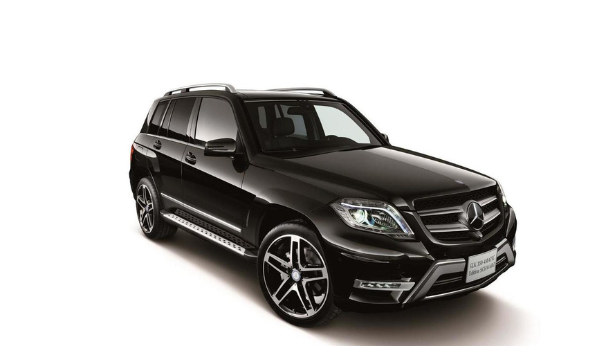 Mercedes GLK 350 4MATIC Schwarz Edition introduced in Japan