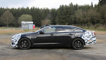 2015 Jaguar XJR facelift spied inside and out near the Nurburgring