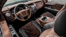 Ford F-150 interior restyled by Carlex Design