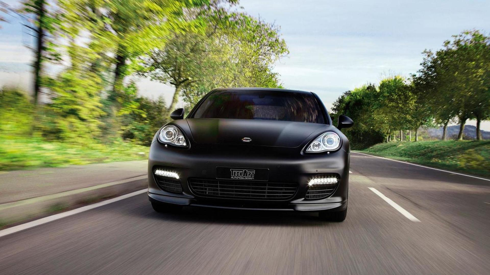 TechArt tunes the Porsche Panamera Diesel