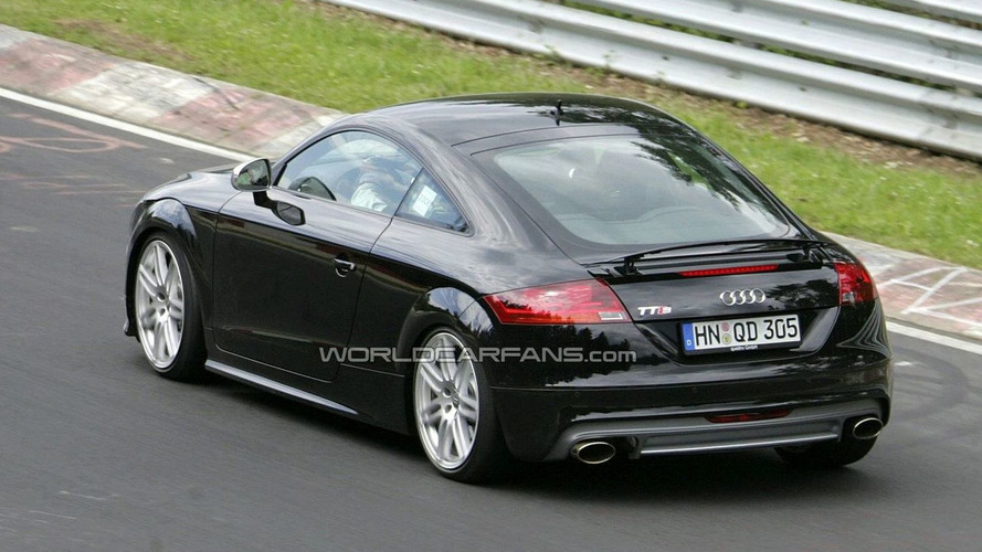 Audi TT-RS Spied Yet Again on the Ring