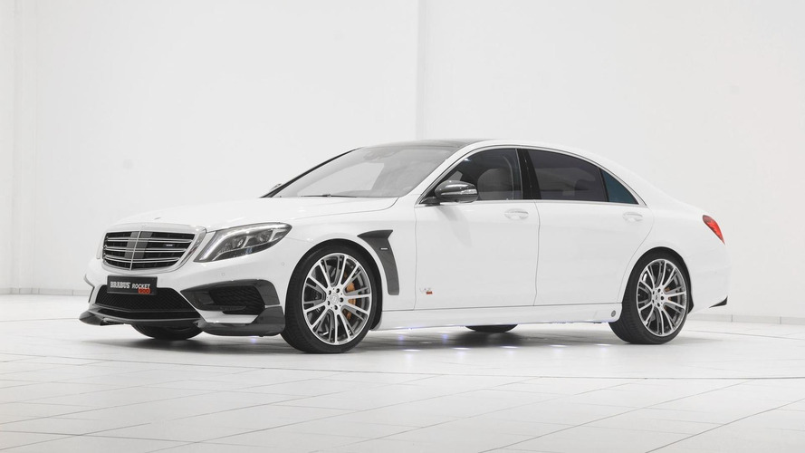 Brabus Rocket 900 is a heavily tuned Mercedes-Benz S65 AMG with 1,200 Nm limited torque