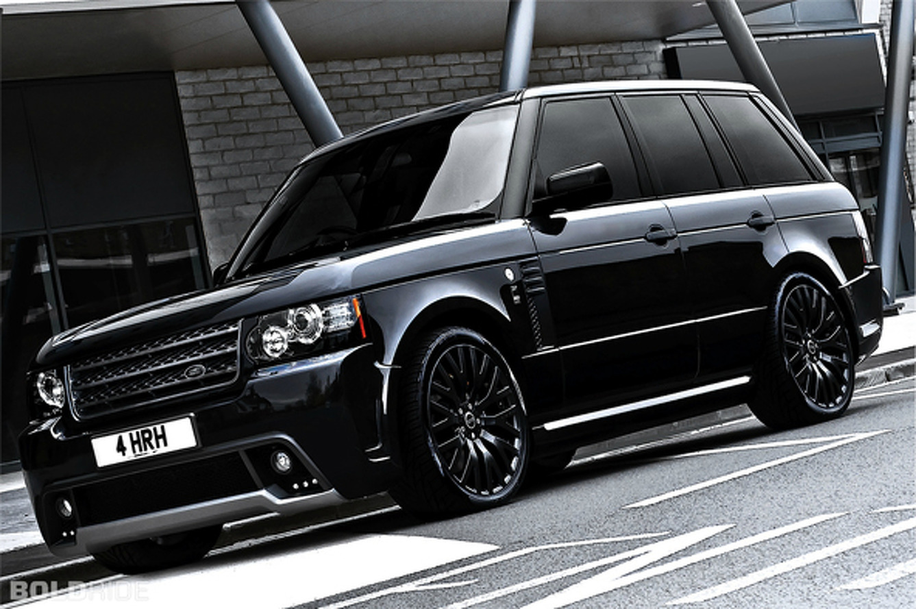 Most Popular: A. Kahn Design Range Rover Westminster Black Label Edition
