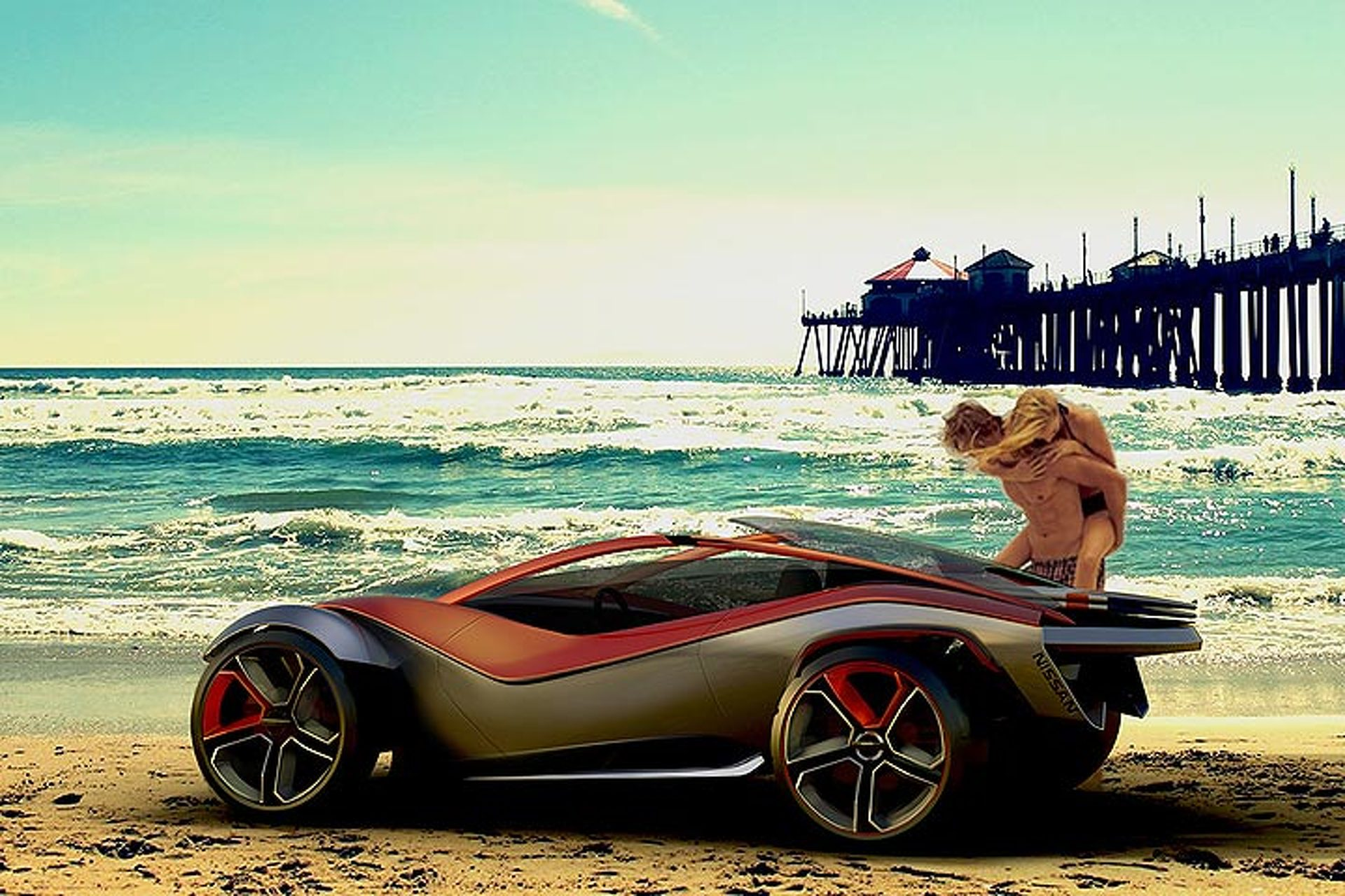 This Nissan Beach Buggy Concept is the Perfect Summer Car