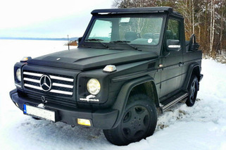 eBay Car Of The Week: Mercedes-Benz G-Wagen Convertible