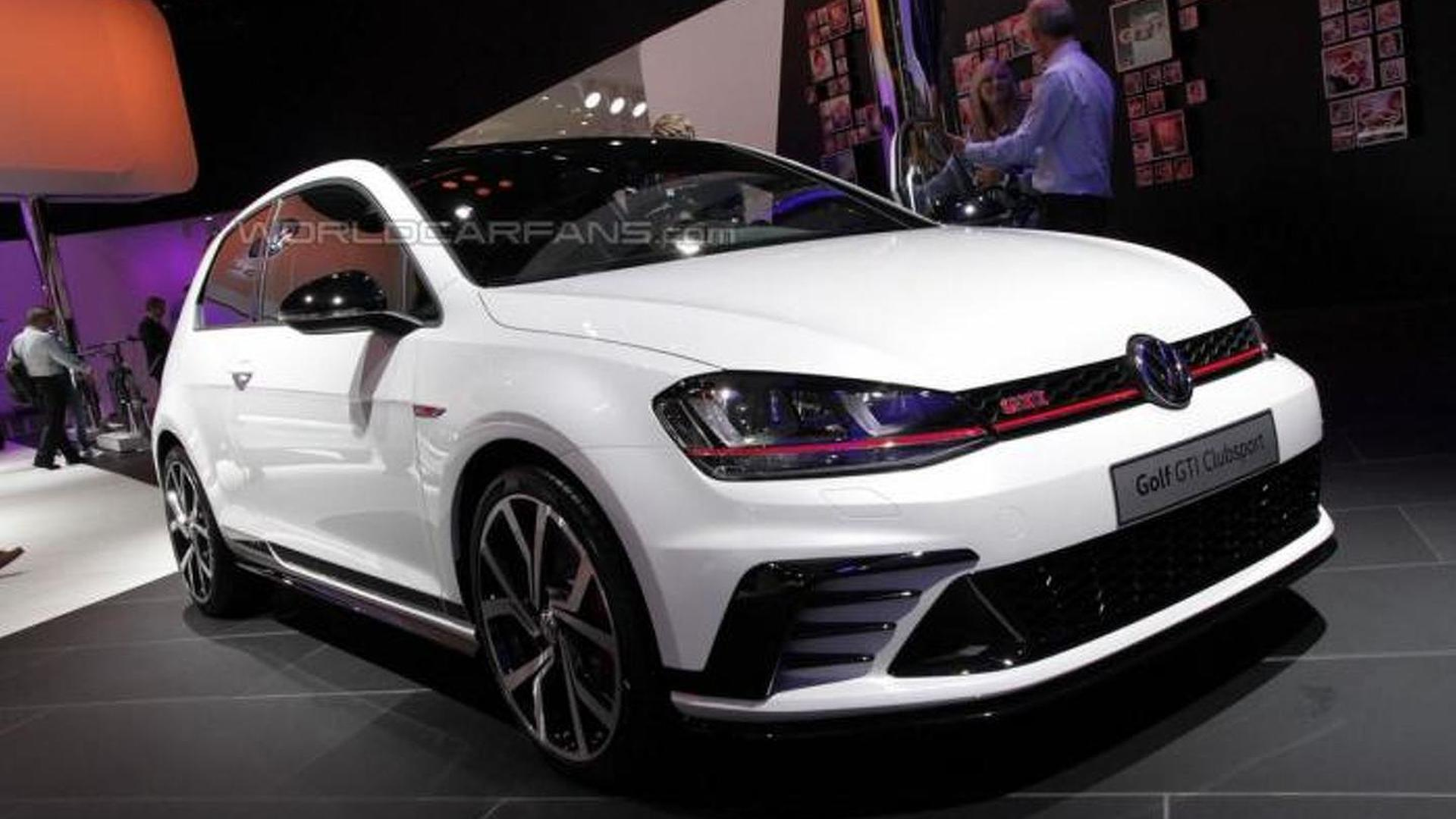 volkswagen golf gti clubsport powers into frankfurt with. Black Bedroom Furniture Sets. Home Design Ideas