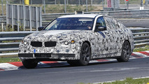 2017 BMW 5-Series stretches its legs on the Nurburgring [video]
