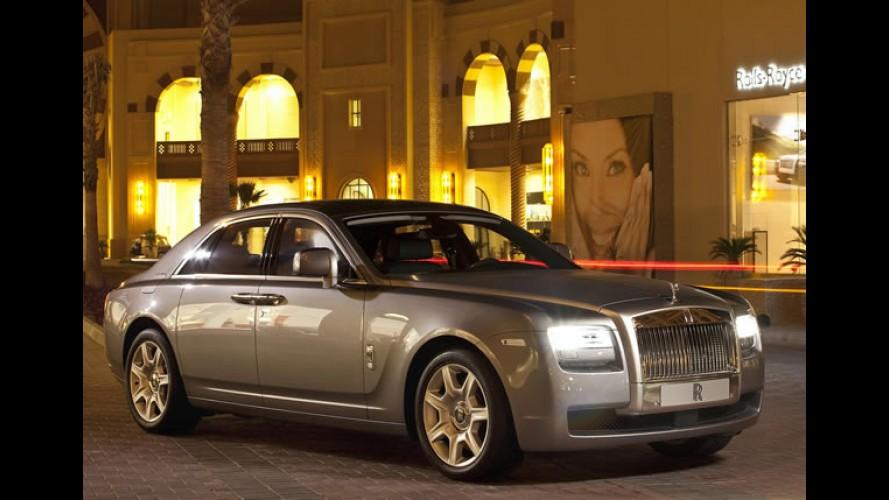 Rolls-Royce: Meta para o Brasil é comercializar 15 unidades durante 2012