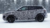 Jaguar E-Pace spy photo