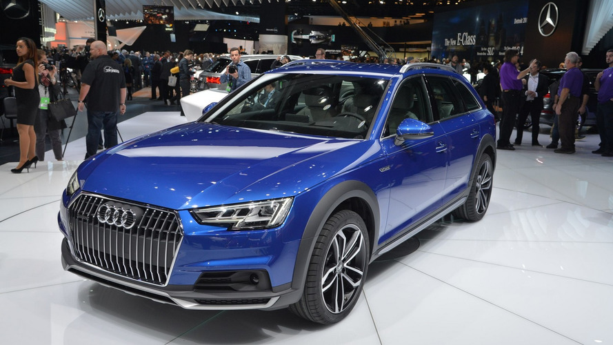 Audi A4 Allroad Quattro brings rugged body to Detroit