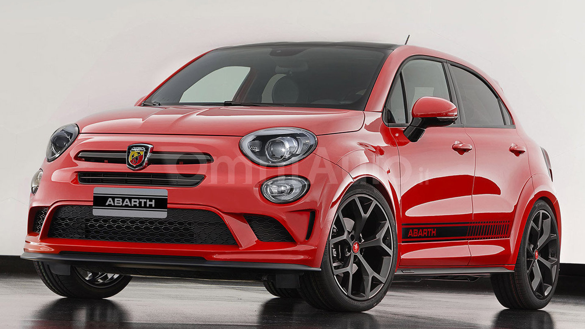 Abarth 500X render makes us wish it was real