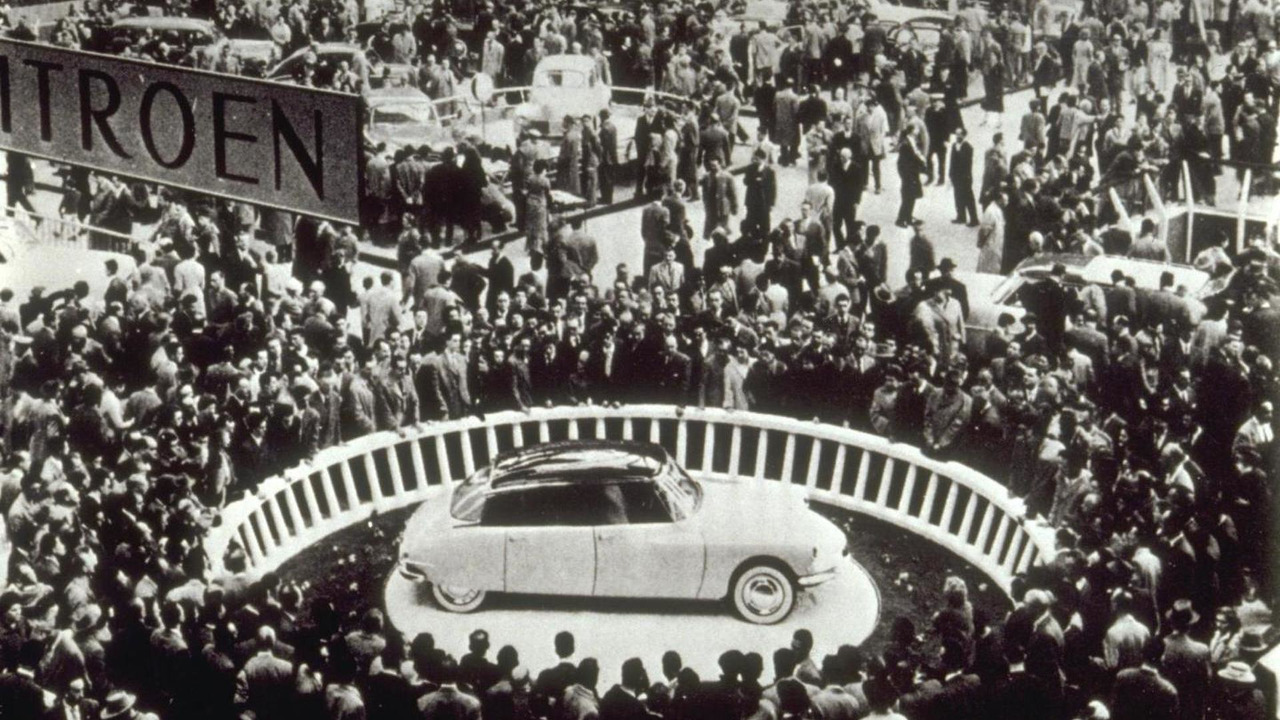 Citroen DS at 1955 Paris Motor Show
