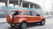 Euro-spec Ford EcoSport to be revised in May, to lose boot spare wheel