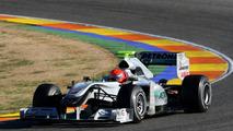Michael Schumacher (GER), Nico Rosberg (GER), Mercedes GP W01, Formula 1 Testing, 01.02.2010 Valencia, Spain