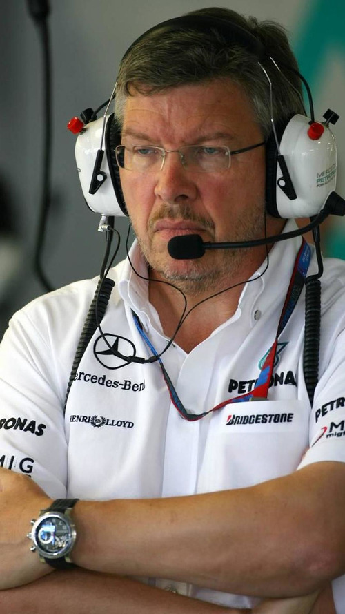 Brawn denies Kubica talks, Schu commits through 2012