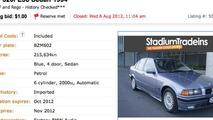 Car dealer accidently sells 1994 BMW 320i for $1