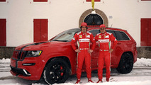 2012 Jeep Grand Cherokee SRT8 for Fernando Alonso and Felipe Massa 2.2.2012